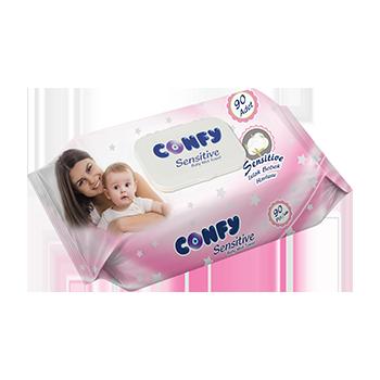Влажни кърпи - Confy -...