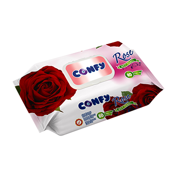 Влажни кърпи - Confy - Red...